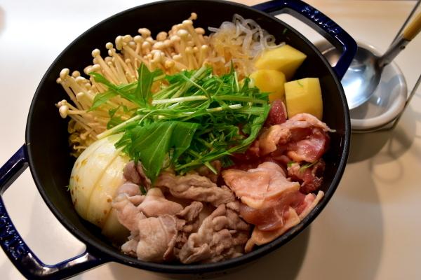 筍の土佐煮と鳥すき_e0407044_17321720.jpg