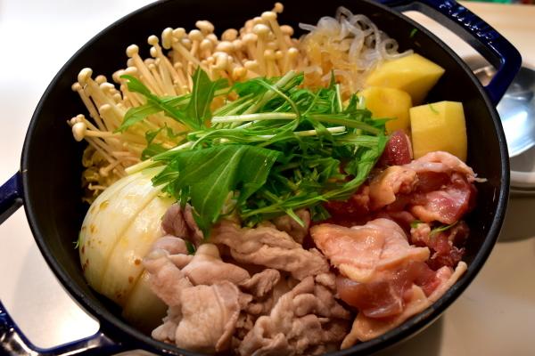 筍の土佐煮と鳥すき_e0407044_17322577.jpg