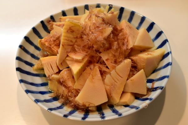 筍の土佐煮と鳥すき_e0407044_17332394.jpg