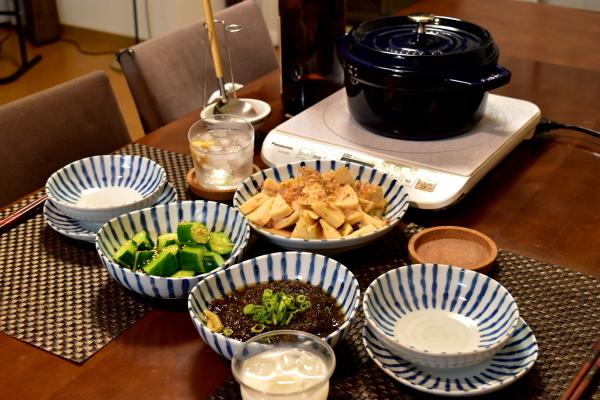 筍の土佐煮と鳥すき_e0407044_17382837.jpg