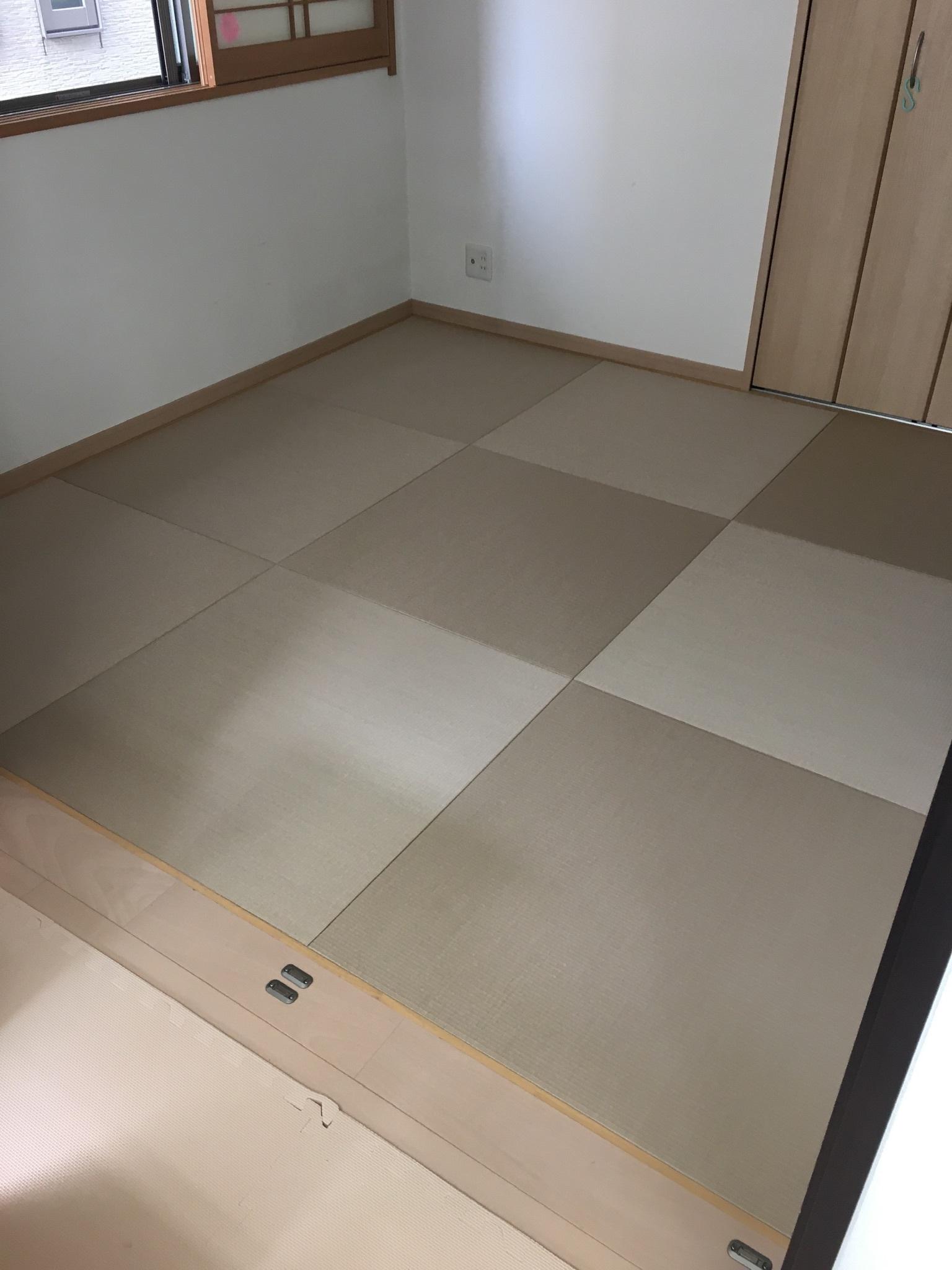 【船橋市海神】44%off琉球畳キャンペーンの施工例&日記