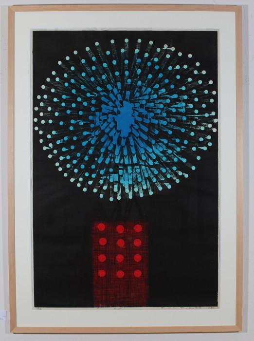 4月17日 1967年サンパウロビエンナーレ版画部門最優秀賞受賞作品_c0122967_14025651.jpg