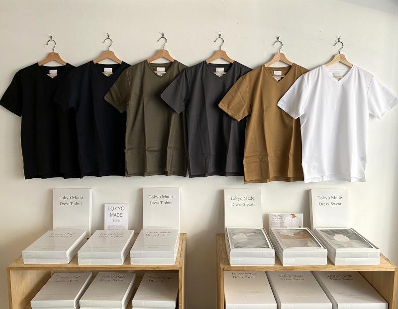 Tokyo Made Dress T-shirt (V-neck)_c0379477_07583088.jpg