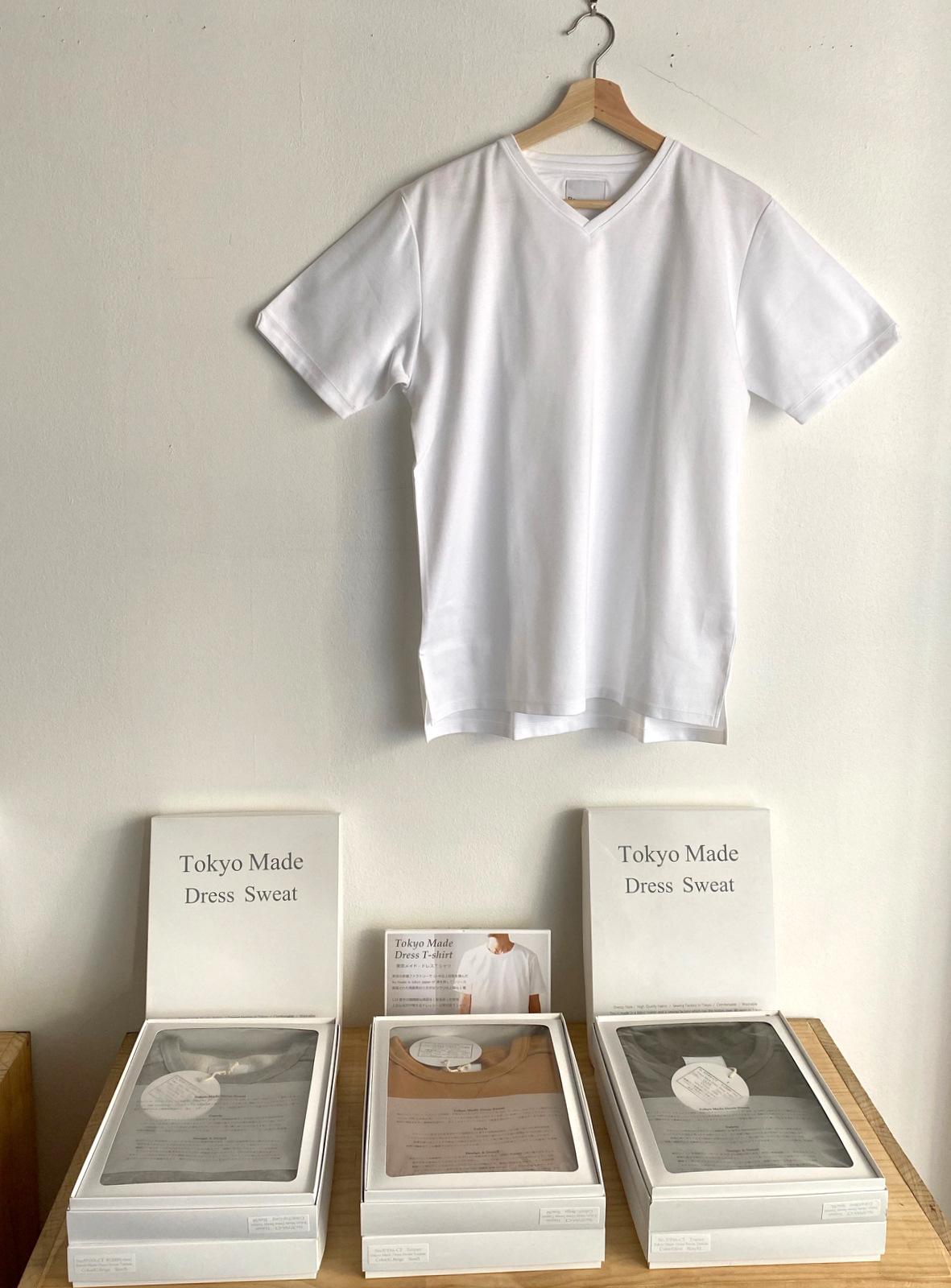 Tokyo Made Dress T-shirt (V-neck)_c0379477_08000827.jpg
