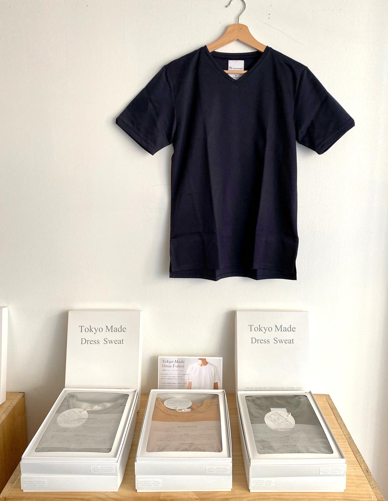 Tokyo Made Dress T-shirt (V-neck)_c0379477_08010639.jpg
