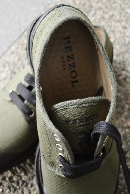 PEZZOL ITALY Military CANVAS SHOES_d0152280_19020769.jpg