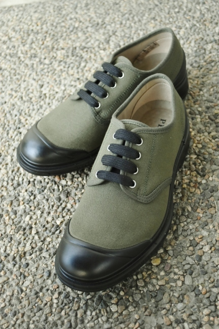 PEZZOL ITALY Military CANVAS SHOES_d0152280_19021744.jpg