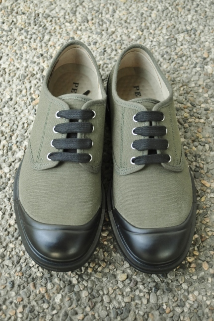 PEZZOL ITALY Military CANVAS SHOES_d0152280_19022858.jpg