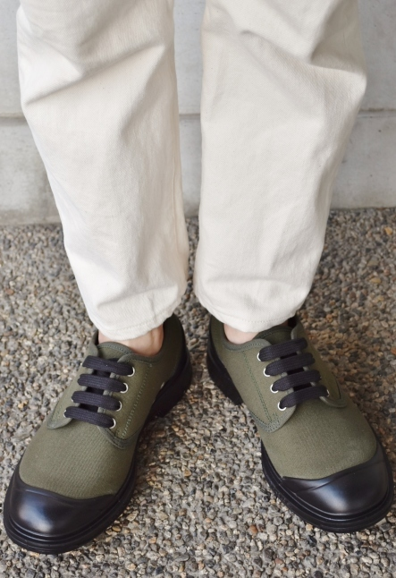 PEZZOL ITALY Military CANVAS SHOES_d0152280_19045724.jpg