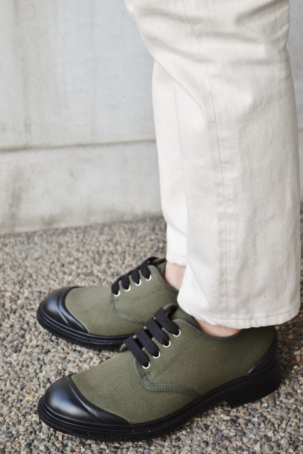 PEZZOL ITALY Military CANVAS SHOES_d0152280_19051524.jpg