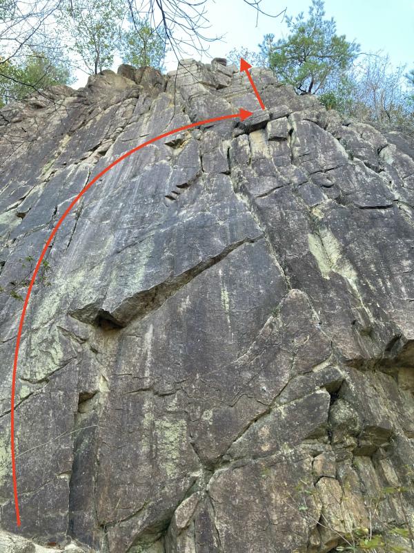 Ashiya Rock Garden Scrambling Classics FKT(Fastest Known Time) 芦屋ロックガーデン&荒地山のクラッシック岩場巡り_b0220886_15452871.jpg