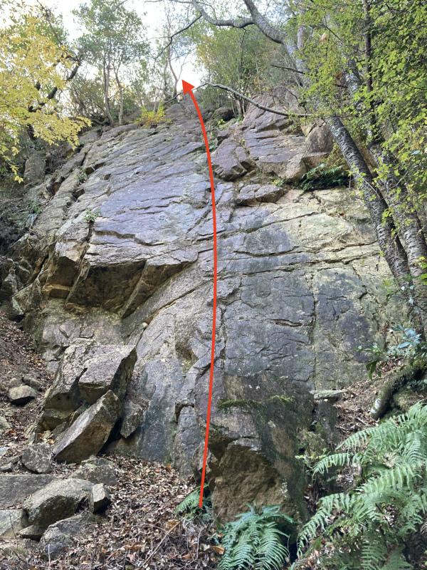 Ashiya Rock Garden Scrambling Classics FKT(Fastest Known Time) 芦屋ロックガーデン&荒地山のクラッシック岩場巡り_b0220886_16014497.jpg