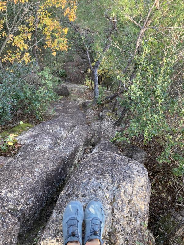 Ashiya Rock Garden Scrambling Classics FKT(Fastest Known Time) 芦屋ロックガーデン&荒地山のクラッシック岩場巡り_b0220886_16014655.jpg
