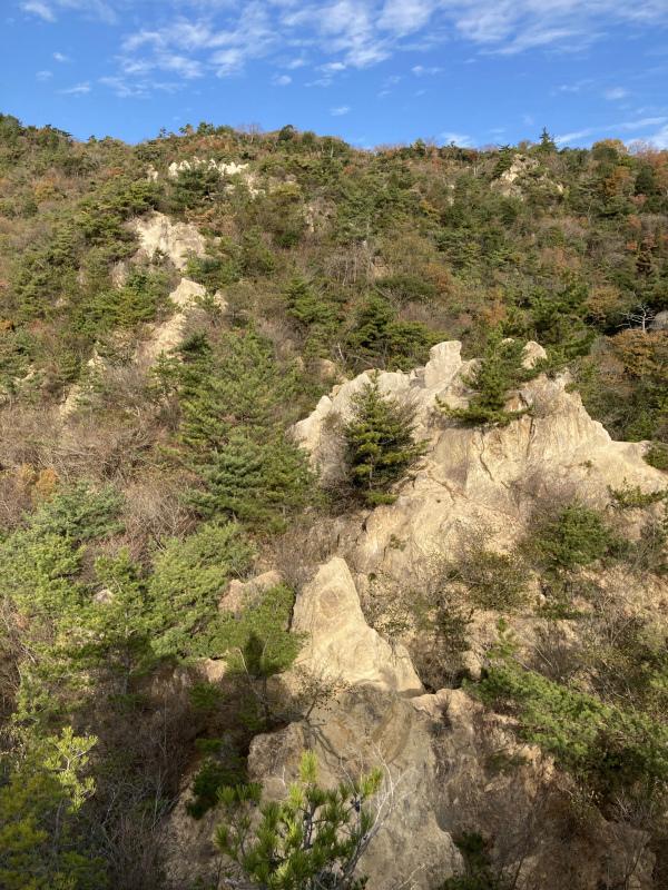 Ashiya Rock Garden Scrambling Classics FKT(Fastest Known Time) 芦屋ロックガーデン&荒地山のクラッシック岩場巡り_b0220886_19095232.jpg