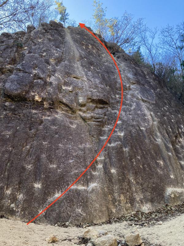 Ashiya Rock Garden Scrambling Classics FKT(Fastest Known Time) 芦屋ロックガーデン&荒地山のクラッシック岩場巡り_b0220886_19101715.jpg