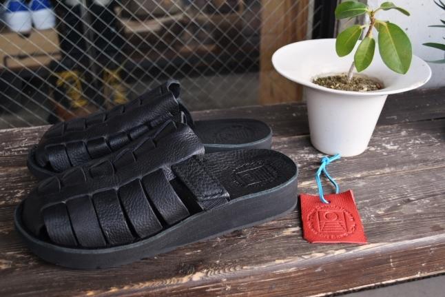 The Sandalman  NEW 当店別注  The Smarachee Slip on_d0152280_10300346.jpg