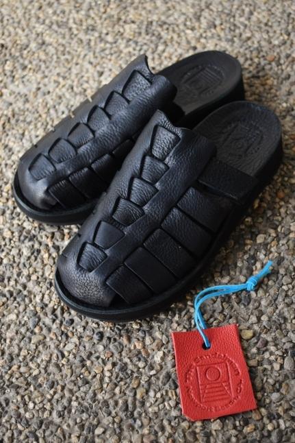 The Sandalman  NEW 当店別注  The Smarachee Slip on_d0152280_10301758.jpg