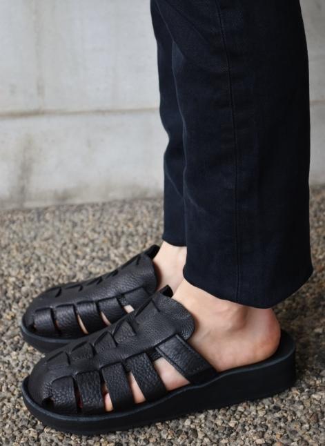 The Sandalman  NEW 当店別注  The Smarachee Slip on_d0152280_10315159.jpg