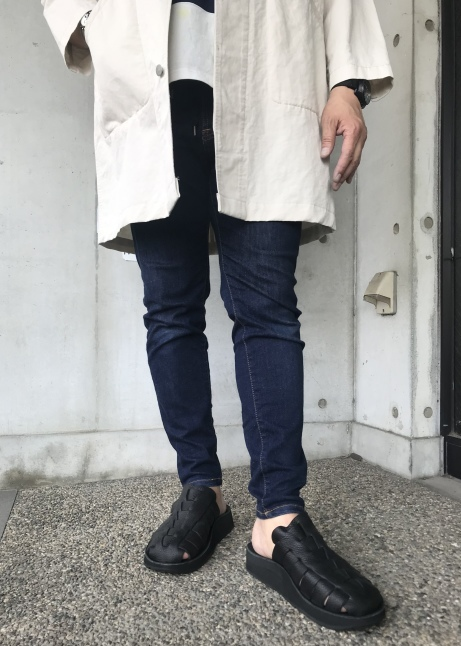 The Sandalman  NEW 当店別注  The Smarachee Slip on_d0152280_10443069.jpeg