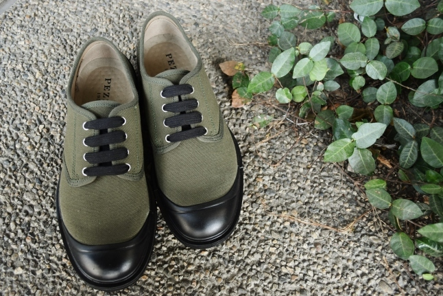 PEZZOL ITALY Military CANVAS SHOES_d0152280_19591254.jpg