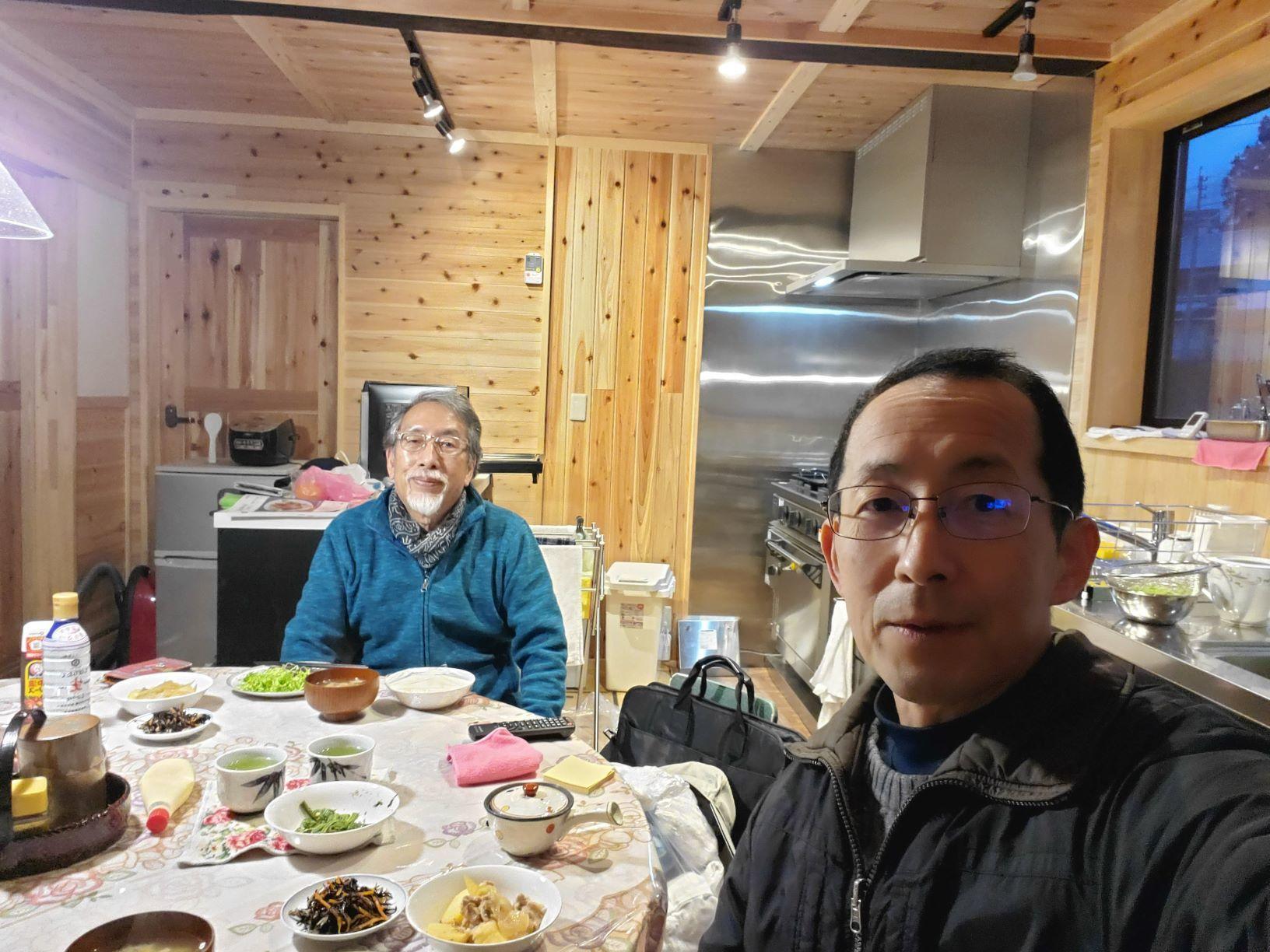 植村さんの滞在開始_b0304722_11235466.jpg