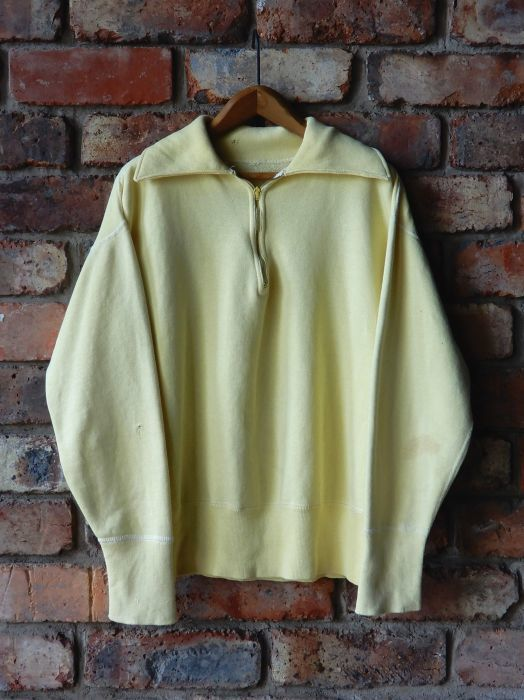 50\'S UNKNOW H/Z SWEAT SHIRT YELLOW--RECOMMEND--_d0334976_13230432.jpg