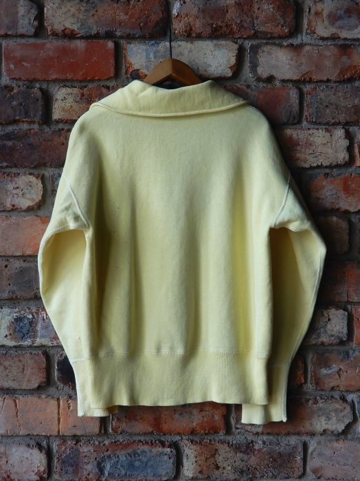 50\'S UNKNOW H/Z SWEAT SHIRT YELLOW--RECOMMEND--_d0334976_13230788.jpg
