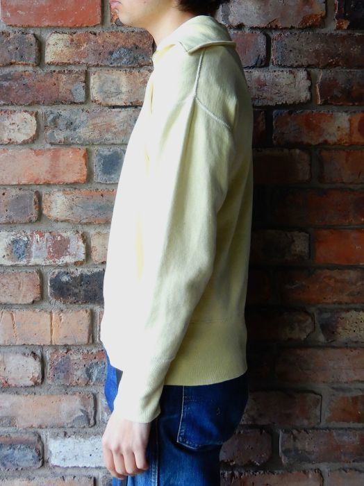 50\'S UNKNOW H/Z SWEAT SHIRT YELLOW--RECOMMEND--_d0334976_14371921.jpg