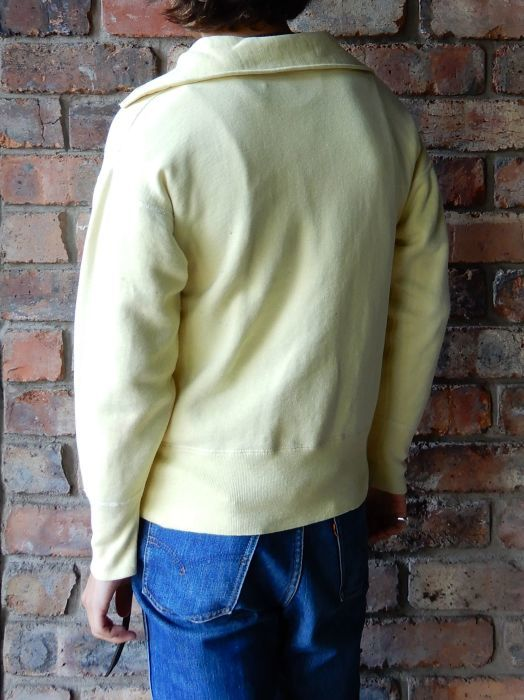 50\'S UNKNOW H/Z SWEAT SHIRT YELLOW--RECOMMEND--_d0334976_14372264.jpg