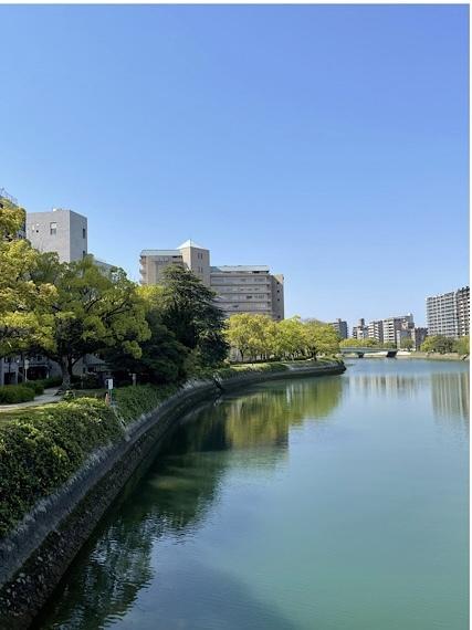 川の街広島、川辺をお散歩(*´╰╯`๓)♬_a0213806_17335693.jpeg
