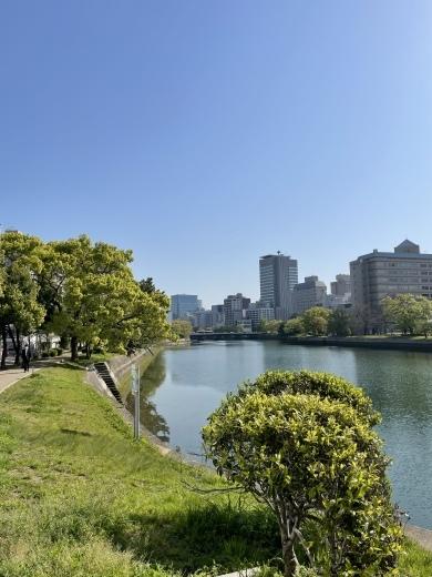 川の街広島、川辺をお散歩(*´╰╯`๓)♬_a0213806_17361276.jpeg