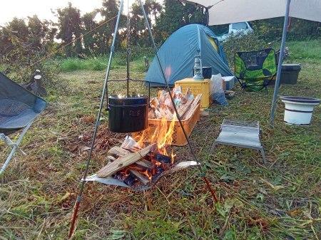 みかん畑で初キャンプ。_a0300410_15161661.jpg
