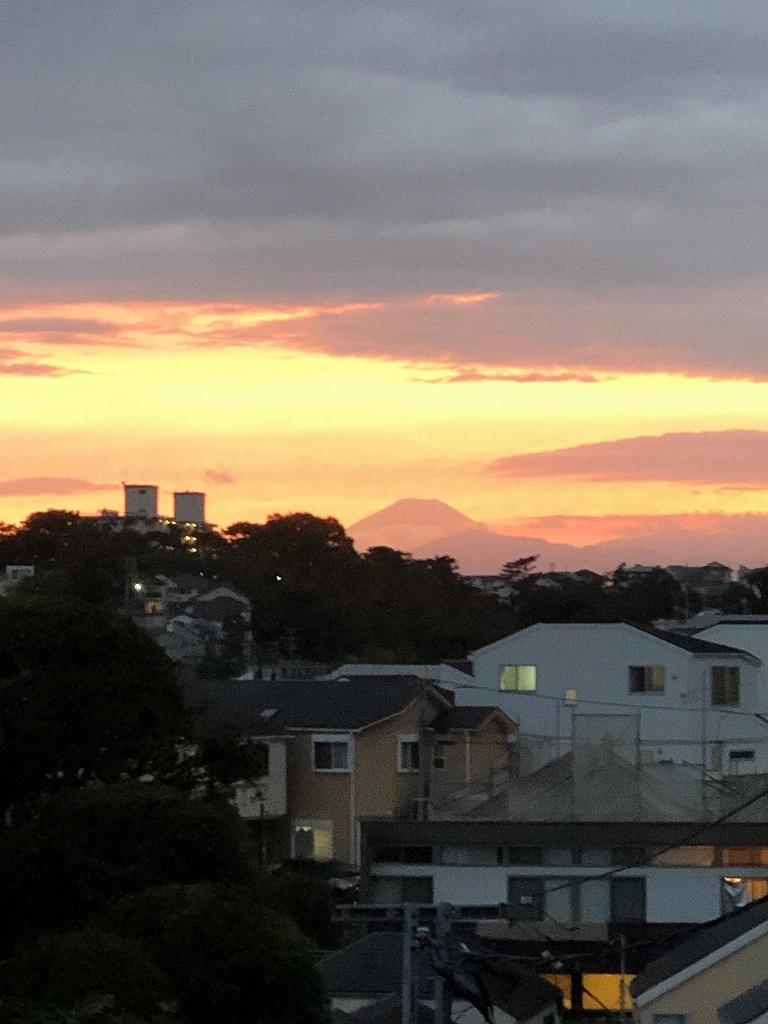 ある風景:Mt.Fuji@View from Yokohama_d0393923_21524312.jpg