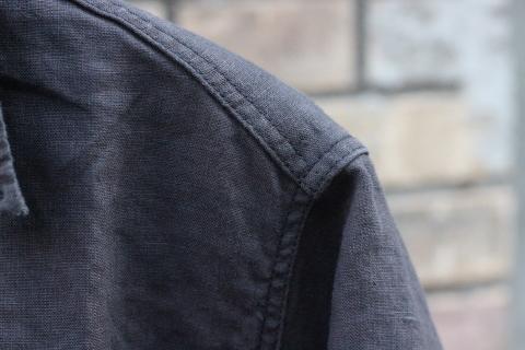 "「WORKERS」 \""Open Collar Shirt, Black Linen\"" & 「Vintage Dress Shoes」 ご紹介_f0191324_08311957.jpg"