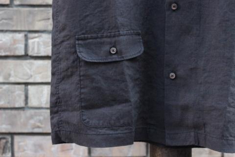 "「WORKERS」 \""Open Collar Shirt, Black Linen\"" & 「Vintage Dress Shoes」 ご紹介_f0191324_08312608.jpg"