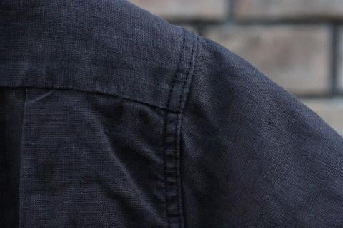 "「WORKERS」 \""Open Collar Shirt, Black Linen\"" & 「Vintage Dress Shoes」 ご紹介_f0191324_08315714.jpg"