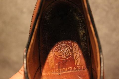 "「WORKERS」 \""Open Collar Shirt, Black Linen\"" & 「Vintage Dress Shoes」 ご紹介_f0191324_08322322.jpg"