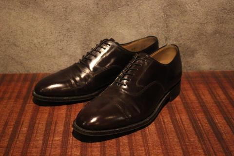 "「WORKERS」 \""Open Collar Shirt, Black Linen\"" & 「Vintage Dress Shoes」 ご紹介_f0191324_08323752.jpg"