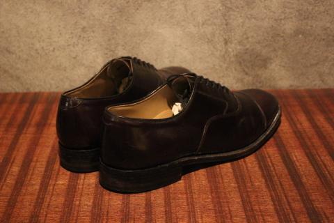 "「WORKERS」 \""Open Collar Shirt, Black Linen\"" & 「Vintage Dress Shoes」 ご紹介_f0191324_08324428.jpg"