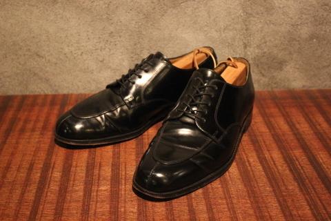 "「WORKERS」 \""Open Collar Shirt, Black Linen\"" & 「Vintage Dress Shoes」 ご紹介_f0191324_08330325.jpg"