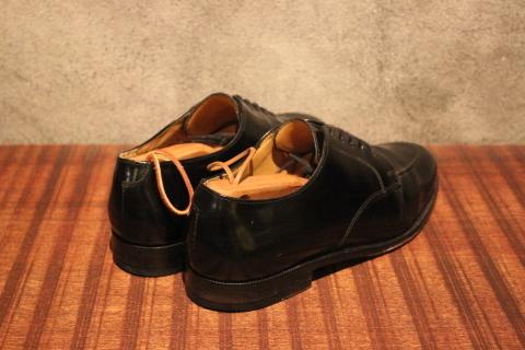 "「WORKERS」 \""Open Collar Shirt, Black Linen\"" & 「Vintage Dress Shoes」 ご紹介_f0191324_08331334.jpg"