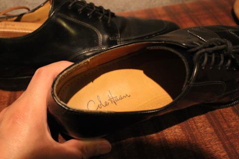 "「WORKERS」 \""Open Collar Shirt, Black Linen\"" & 「Vintage Dress Shoes」 ご紹介_f0191324_08332536.jpg"