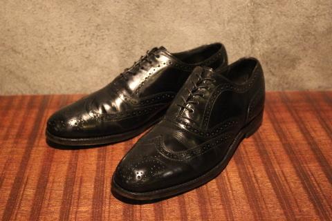 "「WORKERS」 \""Open Collar Shirt, Black Linen\"" & 「Vintage Dress Shoes」 ご紹介_f0191324_08333322.jpg"