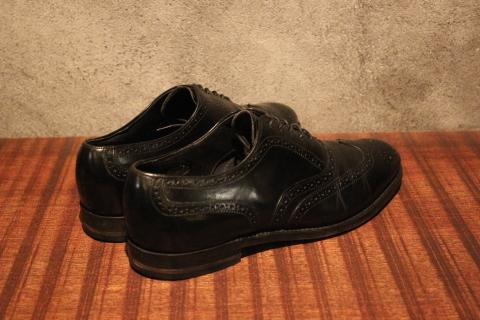"「WORKERS」 \""Open Collar Shirt, Black Linen\"" & 「Vintage Dress Shoes」 ご紹介_f0191324_08334167.jpg"