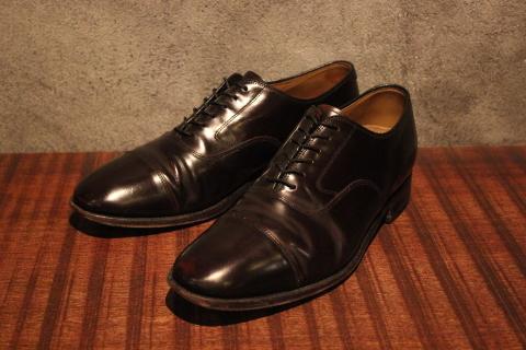 "「WORKERS」 \""Open Collar Shirt, Black Linen\"" & 「Vintage Dress Shoes」 ご紹介_f0191324_08340056.jpg"