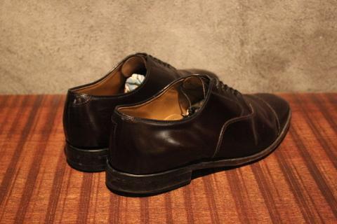 "「WORKERS」 \""Open Collar Shirt, Black Linen\"" & 「Vintage Dress Shoes」 ご紹介_f0191324_08340672.jpg"