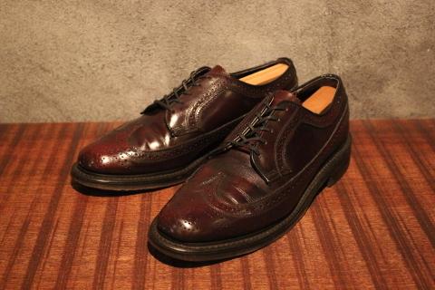 "「WORKERS」 \""Open Collar Shirt, Black Linen\"" & 「Vintage Dress Shoes」 ご紹介_f0191324_08342534.jpg"