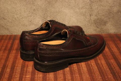"「WORKERS」 \""Open Collar Shirt, Black Linen\"" & 「Vintage Dress Shoes」 ご紹介_f0191324_08343214.jpg"
