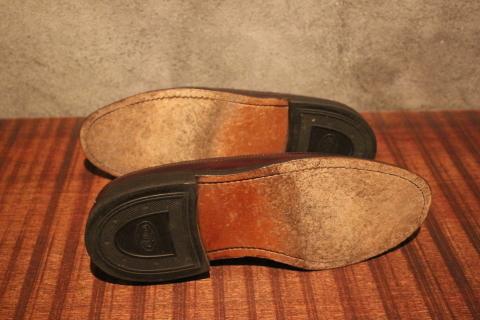 "「WORKERS」 \""Open Collar Shirt, Black Linen\"" & 「Vintage Dress Shoes」 ご紹介_f0191324_08344155.jpg"