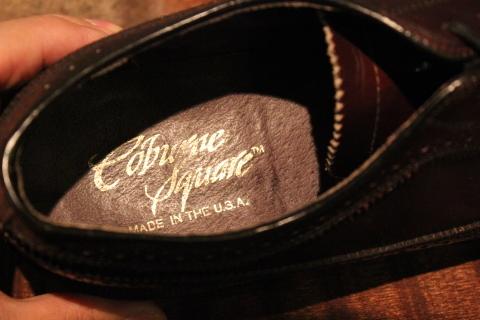 "「WORKERS」 \""Open Collar Shirt, Black Linen\"" & 「Vintage Dress Shoes」 ご紹介_f0191324_08345130.jpg"